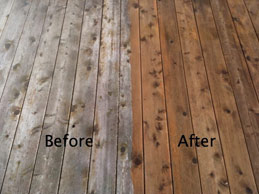 Deck Staining in St-Louis